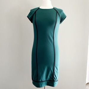 Green Mossimo Fitted Dress | Size S